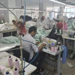 Usine de confection textile au Portugal