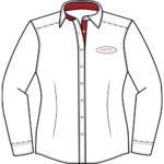 Chemise blanche fabriqué en France par Vestitex
