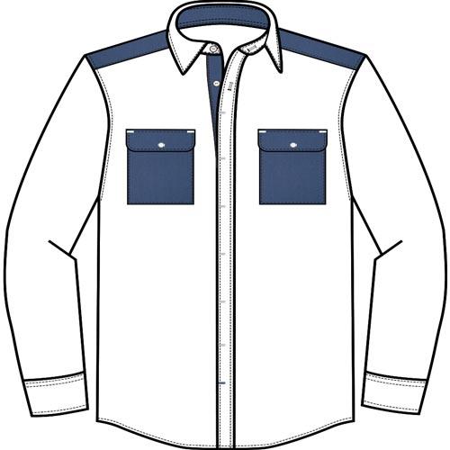 Chemise avec poches fabriquée au Portugal