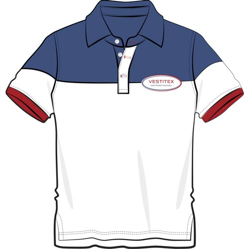 Polo de sport avec logo personnalisé fabriqué en Turquie