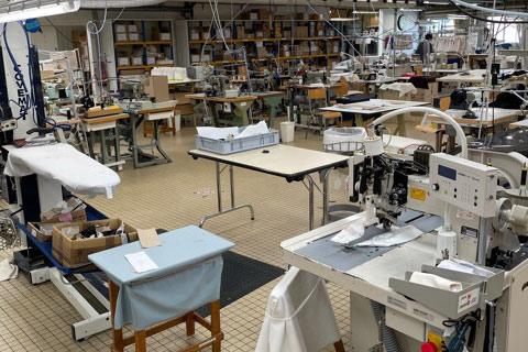 Usine au maroc de fournisseur textile